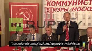 Russia: Communist Party announce Ivan Melnikov as major candidate