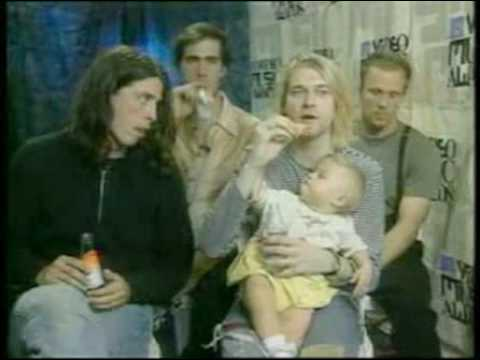 Nirvana Interview 1993 Mtv Vma S Youtube