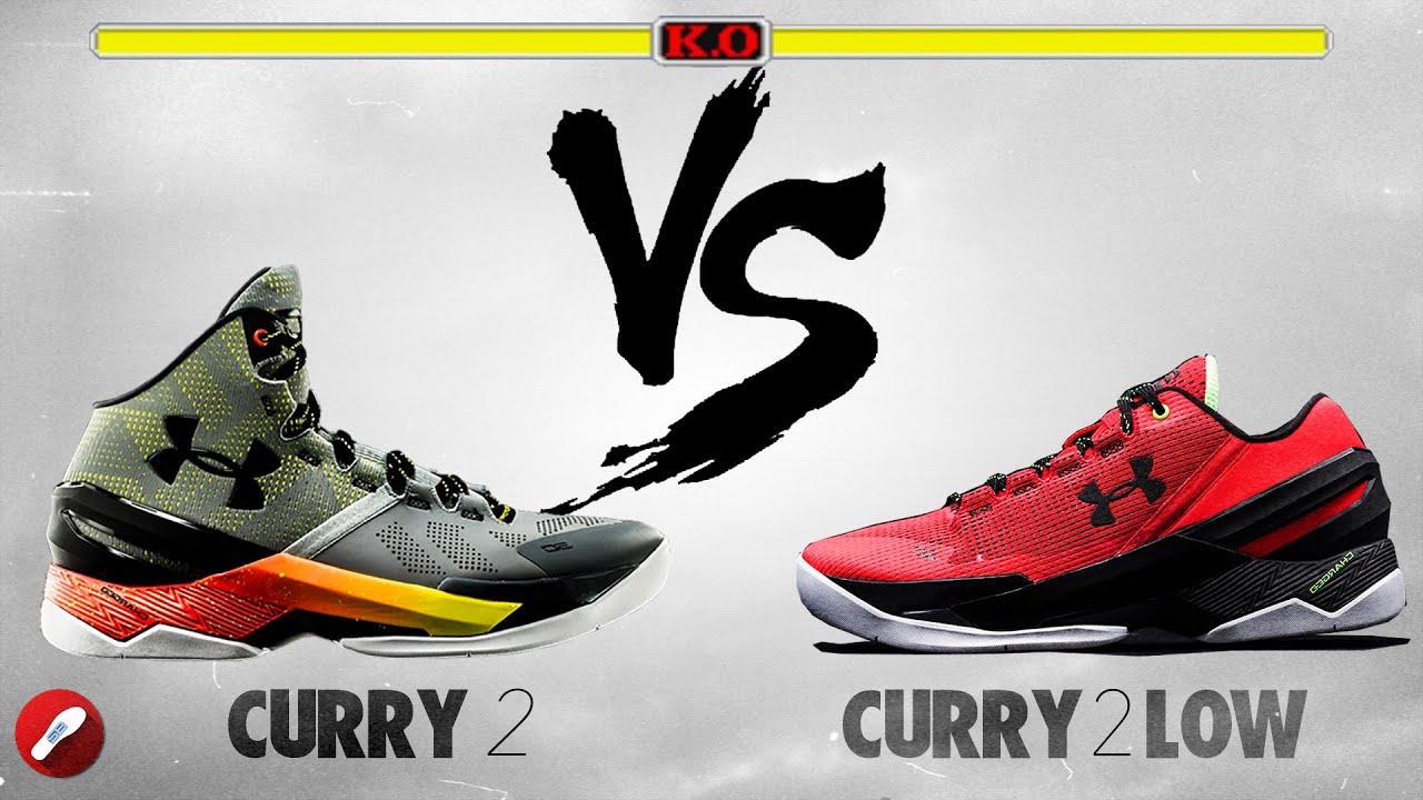 e923e135fa3f ... clearance under armour curry 2 vs curry 2 low 41124 7cc11