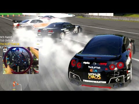 Forza 6 GoPro ESDA Monza Practice w/Crew I NEVER TAPPED ON NOBODY!!