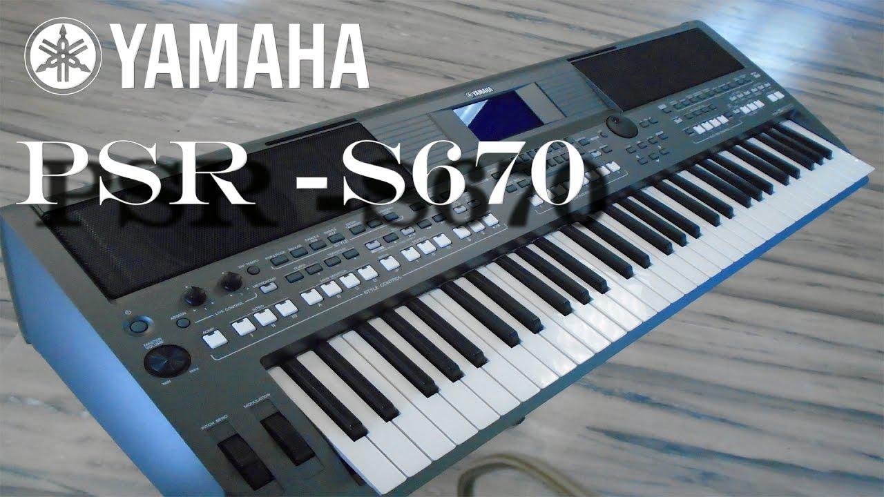 Yamaha PSR-S670 Indian Version | VB View | 🎹🎹🎹