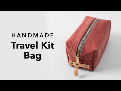 Handmade Travel Kit Bag | Weekend Project Showcase #1