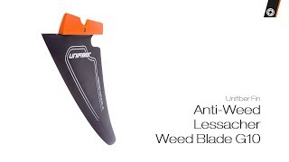 Video: Unifiber Anti-Weed Lessacher Weed Blade G10