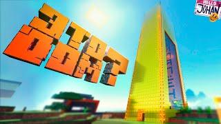 Золотой небоскреб ( Minecraft / RDR 2 )
