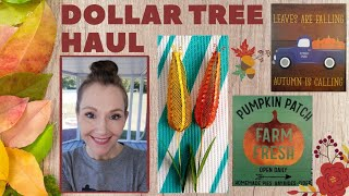Large Dollar Tree Haul🍁Sept. 5, 2019