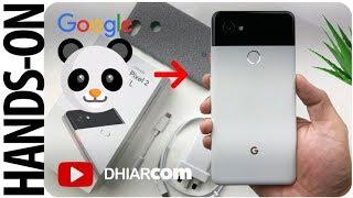 Unboxing GOOGLE PANDA Pixel 2 XL Indonesia