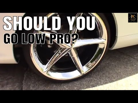 Do 20 Inch Rims Ride Hard? Low Profile Tire Discussion