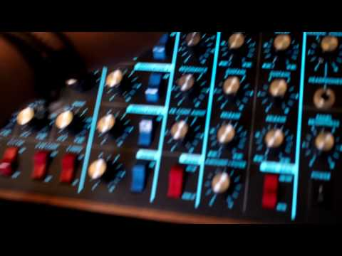 Moog Voyager + Analog Heat