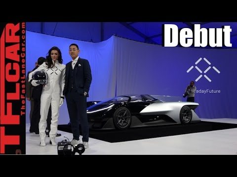 Watch The Faraday Future Ffzero1 Concept Debut A New American Car Company Is Born
