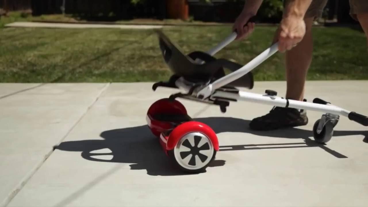 test de l 39 hoverkart diff rence entre le hoverboard et le. Black Bedroom Furniture Sets. Home Design Ideas