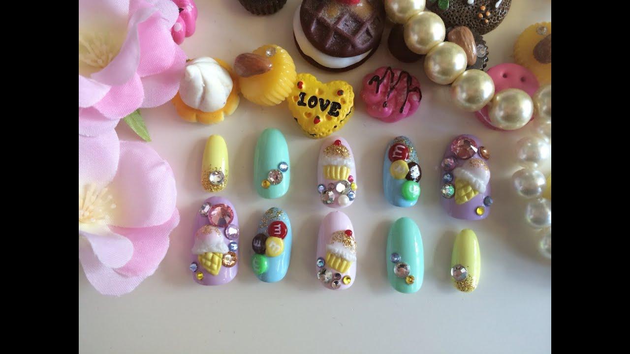 japanese 3d nail art tutorial
