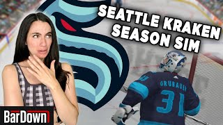HOW DOES THE SEATTLE KRAKEN'S CURRENT ROSTER DO IN A NHL21 SIMULATION