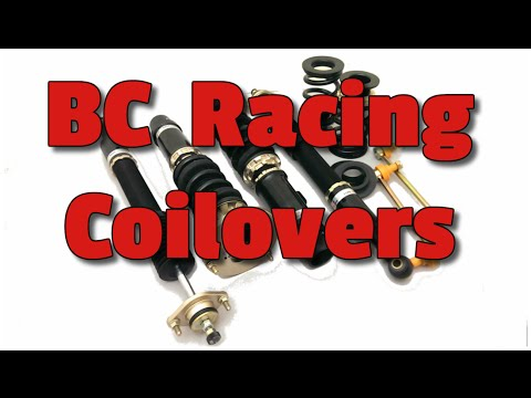 BC Racing coilovers on a MR2