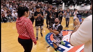 HE PROPOSED AT SNEAKERCON! ...BUT DID SHE SAY YES?!