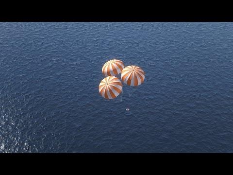 Orion: Parachutes