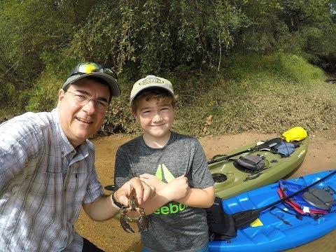 2017 Mark & Caleb Manuel Kayaking on the Chattahoochee River - September
