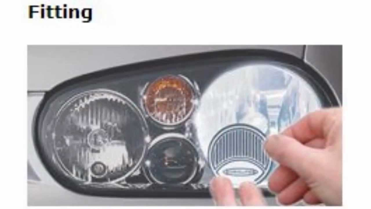 Headlamp Converters for Driving in France - YouTube