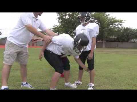 How to Chop Block in Football