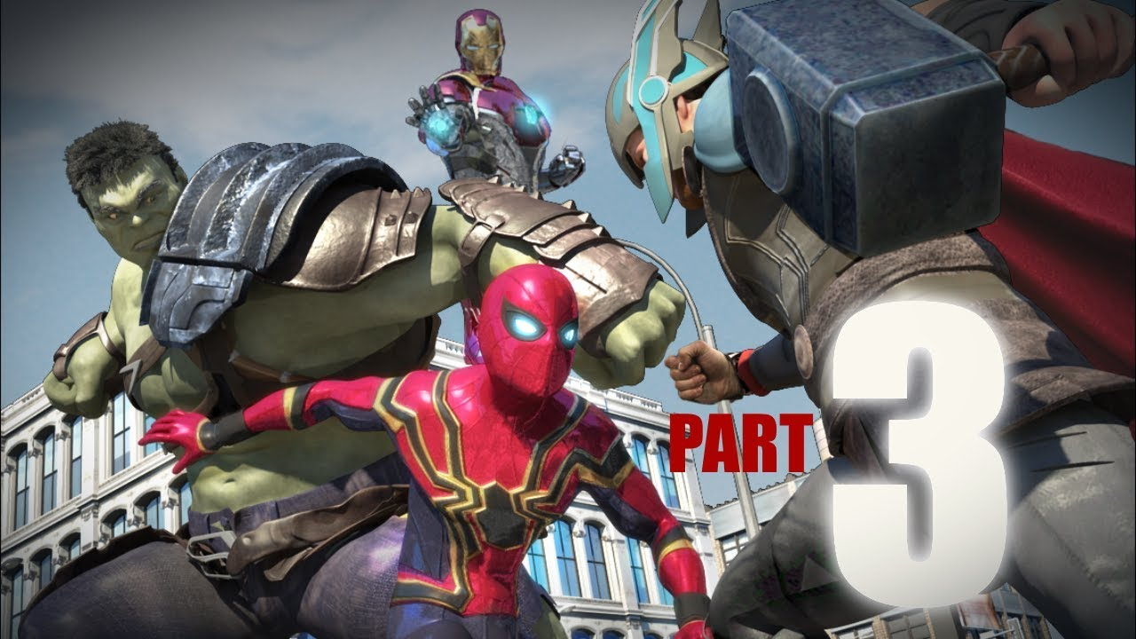 Spider Man Vs Hulk Vs Thor Vs Ironman Vs Captain America Part