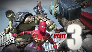 SPIDER-MAN vs Hulk vs Thor vs Ironman vs Captain America Part3/3)