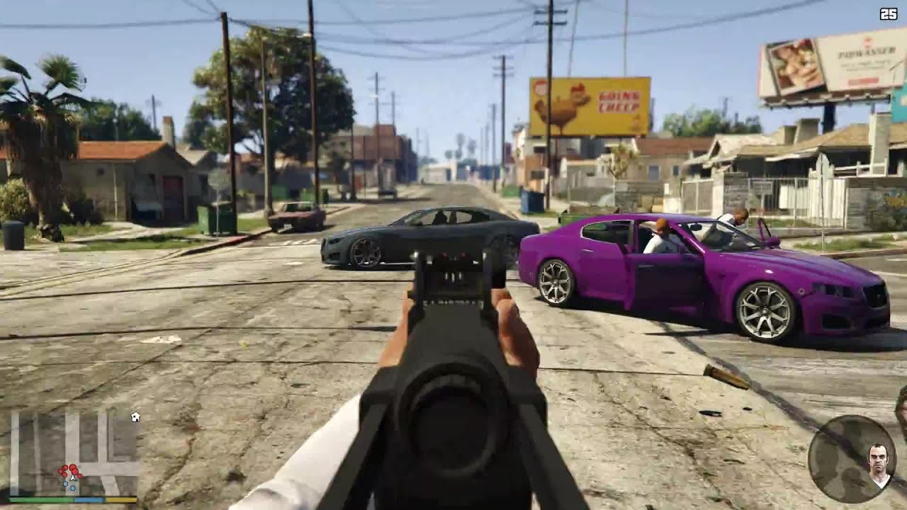 Awesome Race Car Wallpapers Gta 5 First Person Next Gen Gameplay En Youtube