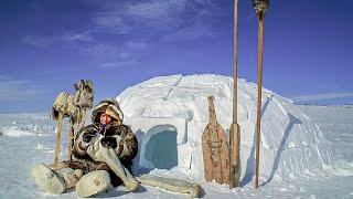 Как живут Эскимосы. Иглу. Еда. Гигиена. Охота. Рыбалка | Факты