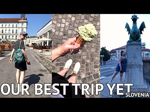 TRAVELLING SLOVENIA! Exploring the Capital City | Food & Sights Travel Vlog