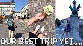 TRAVELLING SLOVENIA! Exploring the Capital City | Food & Sights Travel Vlog thumbnail