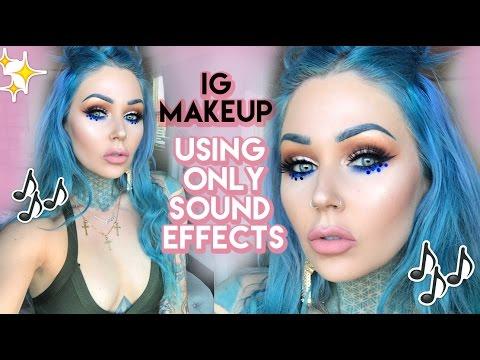 Instagram Makeup Tutorial Using ONLY Sound Effects!   KristenLeanneStyle