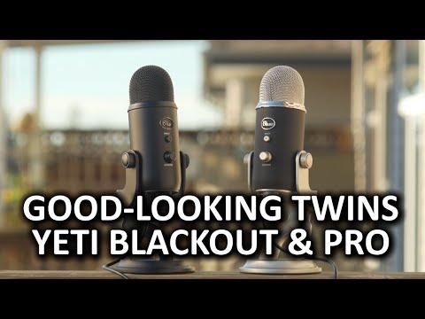 Blue Yeti Blackout & Yeti Pro - Unsurprisingly Excellent