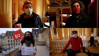 Occupation de l'Odéon par les intermittents du spectacles : « On est tous en train de crever »
