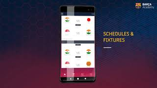 The android and ios app for fc barcelona asia pacific cup 2020