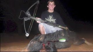 Crossbow Hog Hunting- GoPro