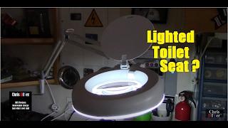 Harbor Freight Magnifying Lamp:  Item # 60643