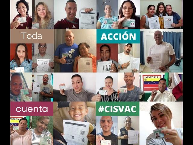 Refugiados aportan a México a través CISVAC.