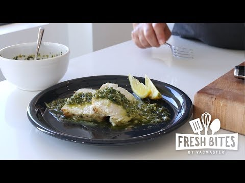 Swordfish Roast With Garlic & Lemon Sous Vide
