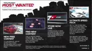 Need For Speed Most Wanted Ultimate Speed Pack Cars (DLC)