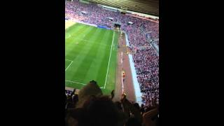 Newcastle fans singing about Adam Johnson!