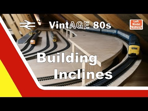Building OO Gauge Model Railway Inclines
