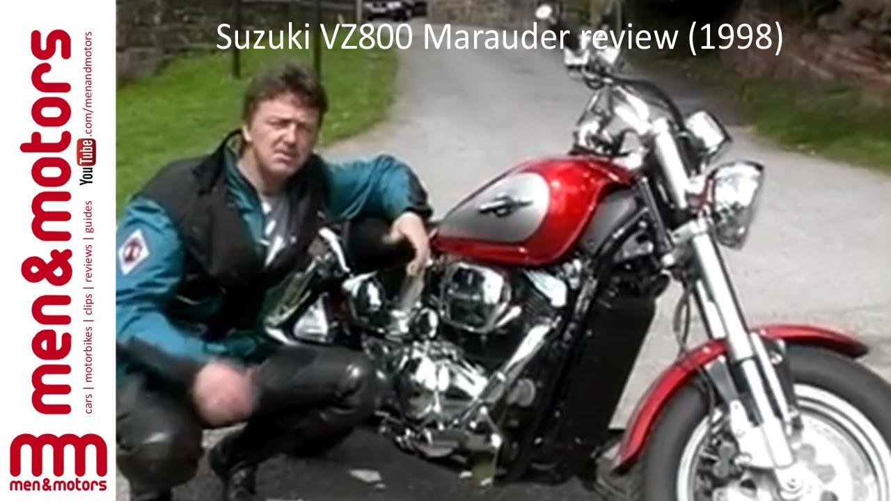suzuki vz800 marauder review (1998) - youtube