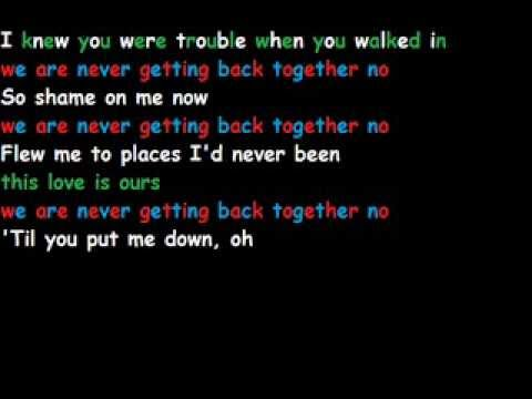Taylor Swift mashup lyrics - anthem lights