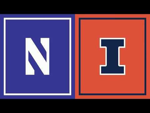 Highlights: Illinois at Northwestern | Big Ten Basketball