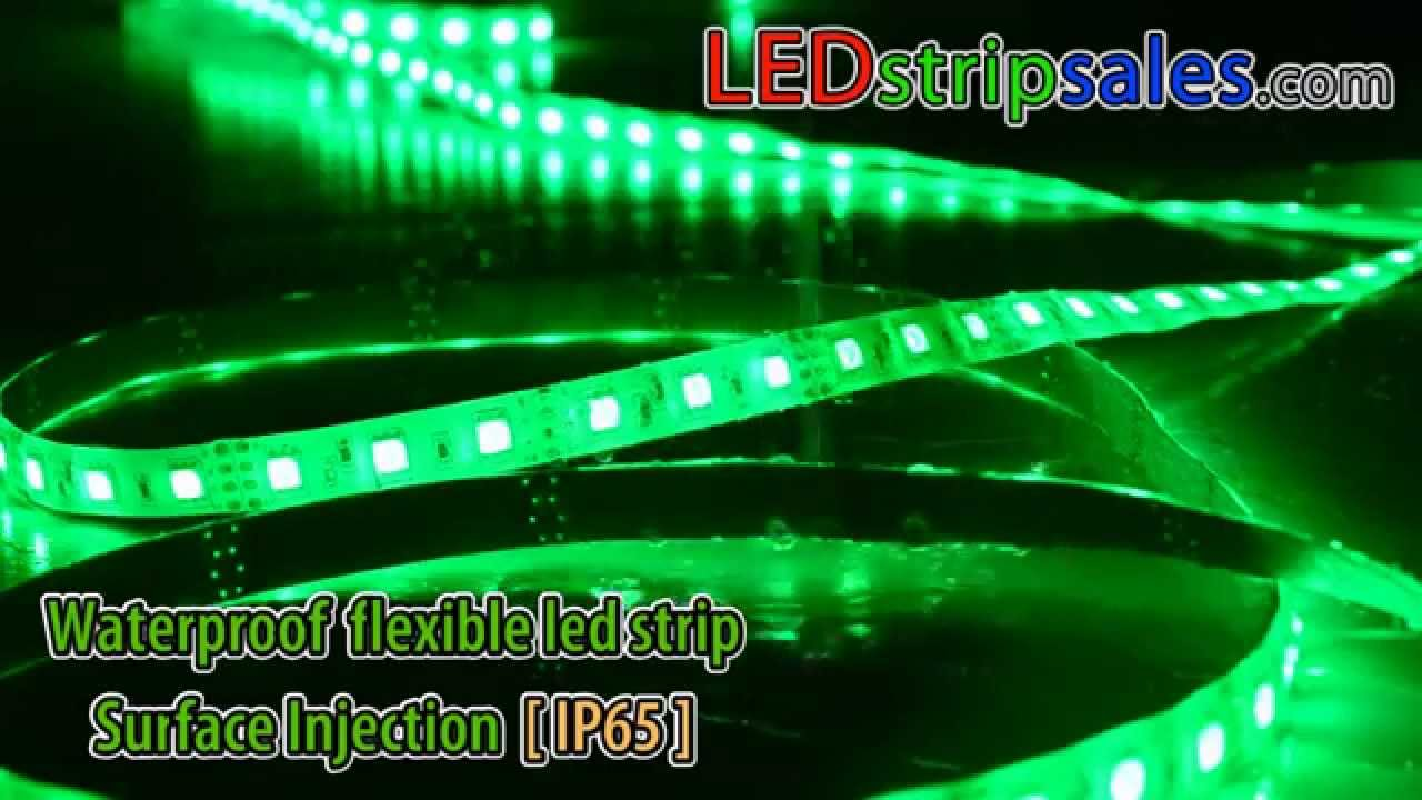 RGB Color Change LED Strip Light Waterproof IP65 For Outdoor Use