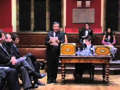 Oxford Union Debate: Internet and Democratisation, Part 4