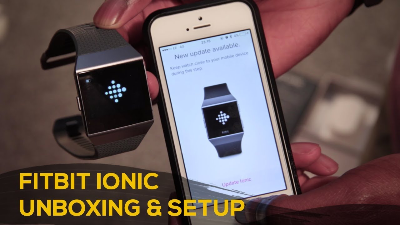 Fitbit Ionic Unboxing & How to Setup [English] - techloto