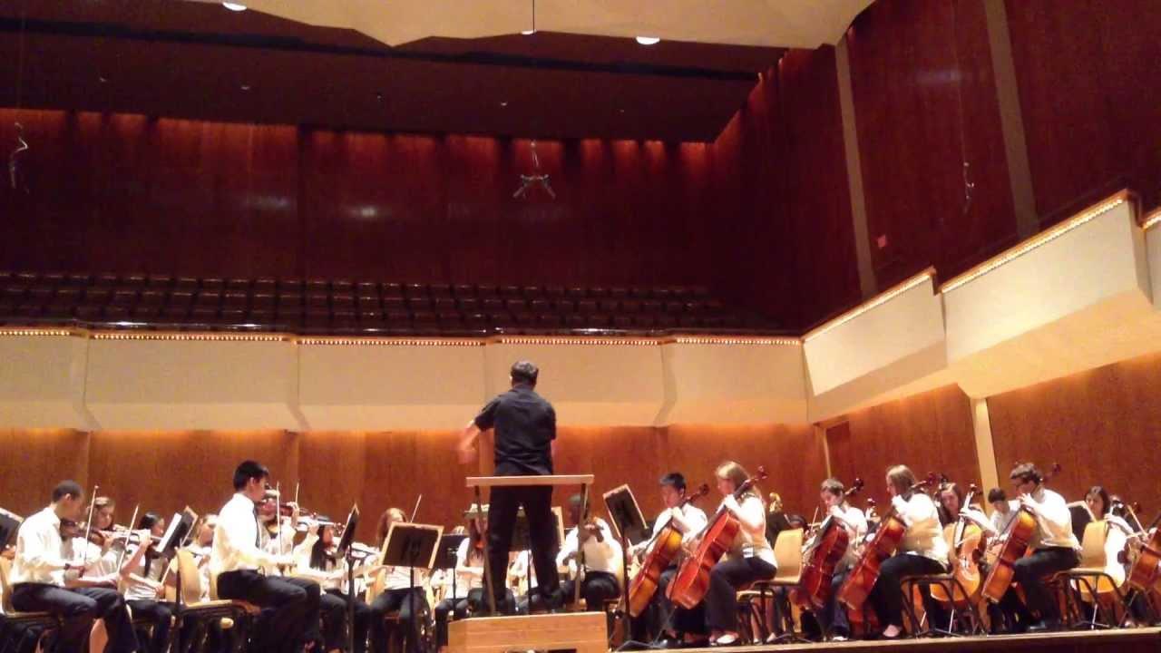 ISYM 2013 Sr. Orchestra Dvorak New World