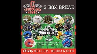 2021 Gold Rush Autograph Mini Helmet Football Series 2 3 Box Break eBay 7 31 2021