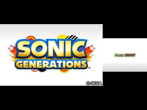 Sonic Generations (3DS) playthrough ~Longplay~