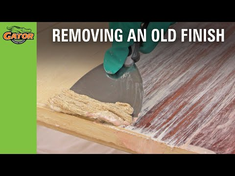 How-to Strip and Finish a Table