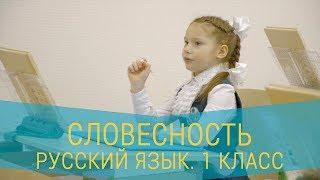 Урок русского языка. 1 класс